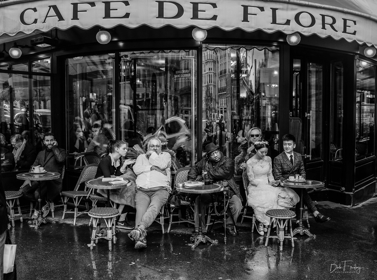 Aprés-Midi at the Café de Flore